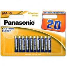 Panasonic Alkaline Power AAA BLI 20 (LR03REB/20BW)